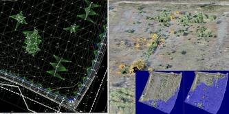 Modele terenu, tereny zalewowe, masy ziemne