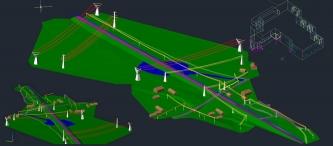Modele dla potrzeb kolizji sieci i obiektów